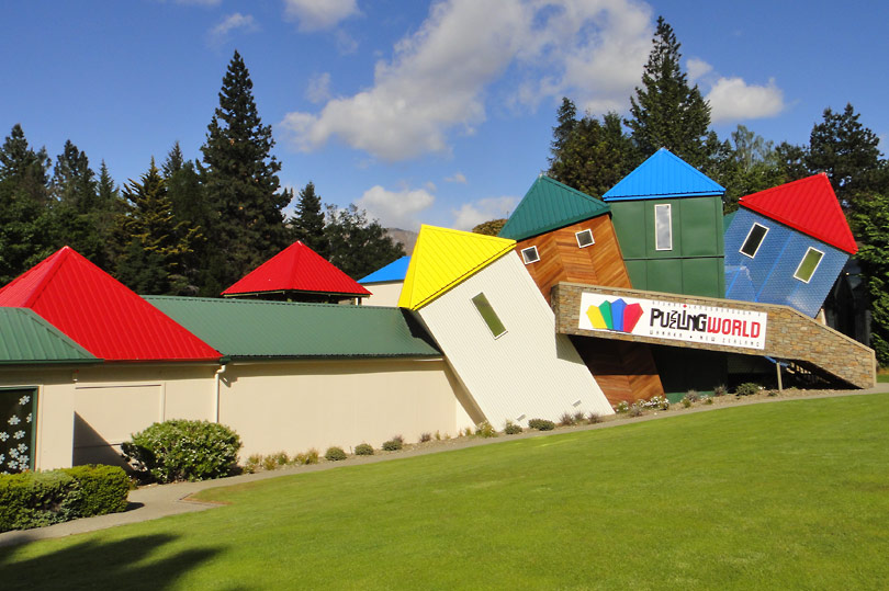 Quirky Wanaka New Zealand - Puzzling World!