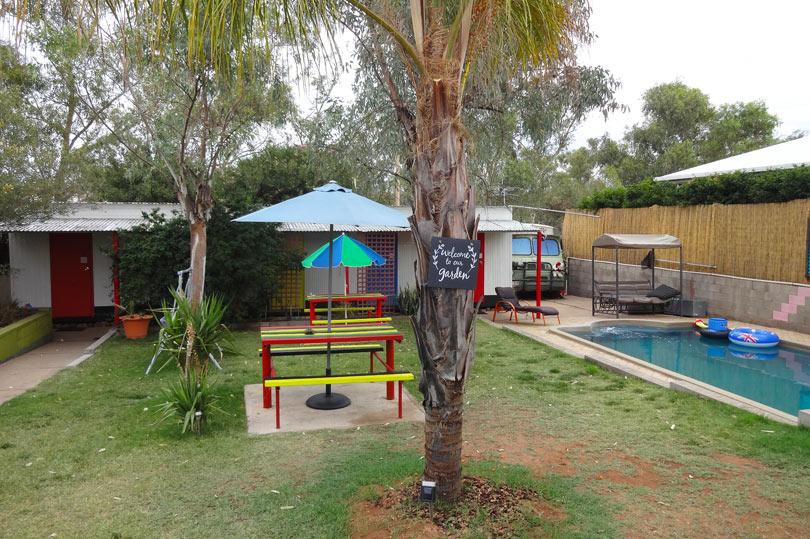 quirky hostel in Australia - Alice's Secret Travellers Inn