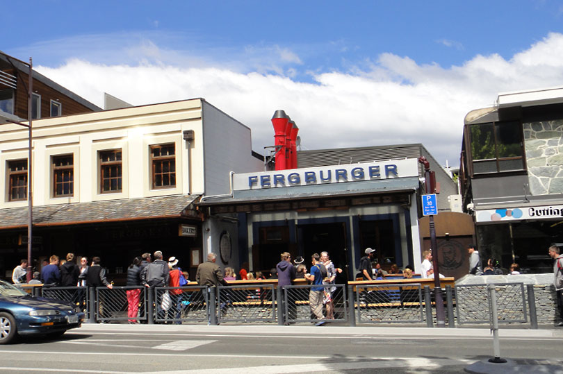 Fergburger - A Queenstown attraction in its own right