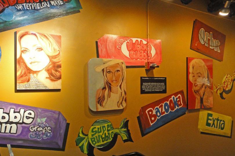 Gum Blondes artwork at WonderWorks