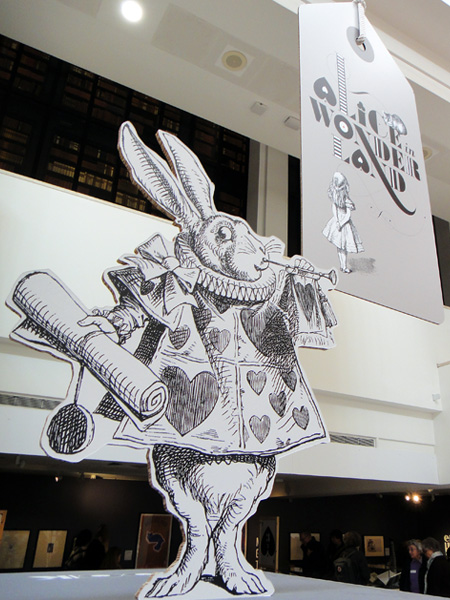 Alice's Adventures in Wonderland - an exhibition at The British Library in London