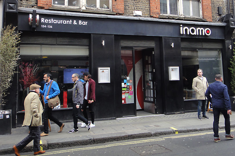 Inamo London - Asian fusion restaurant in Soho