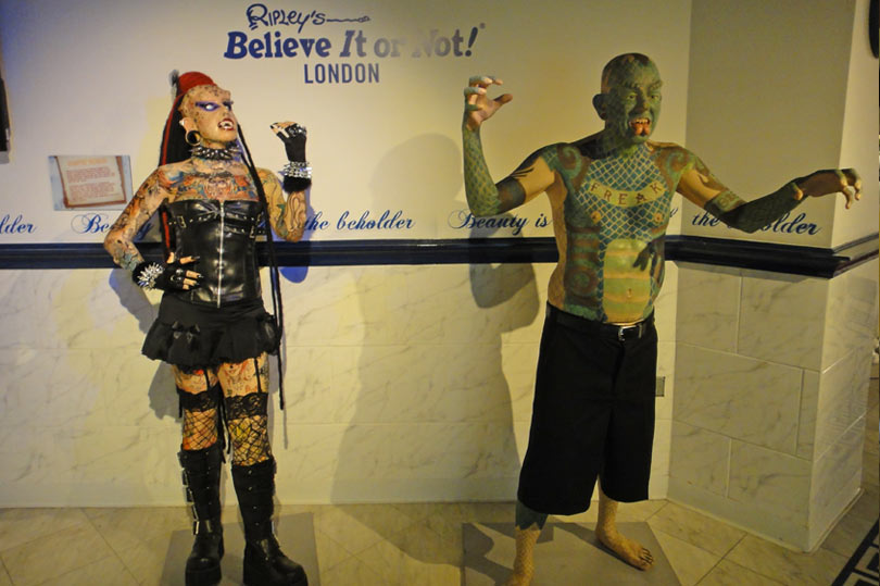 Ripley's Believe it or not London