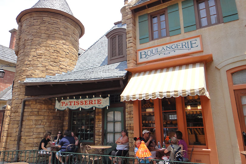 The Patisserie and Boulangerie in France - World Showcase, Epcot