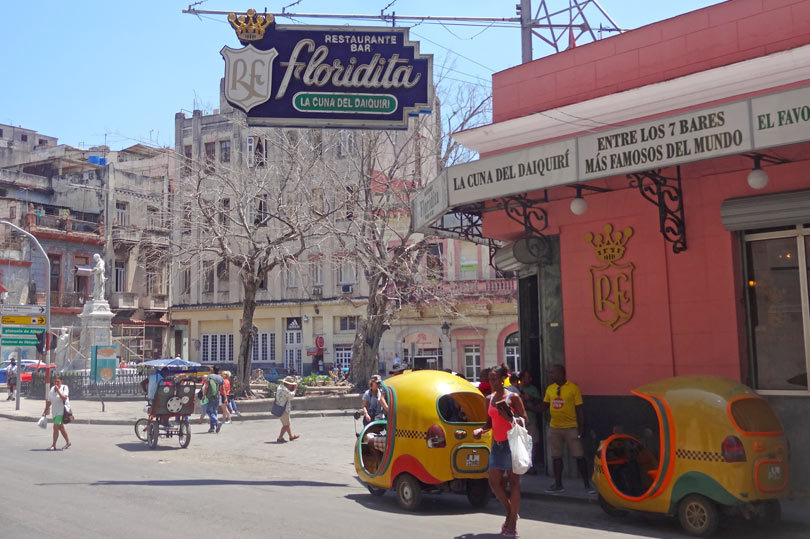 El Floridita - apparently the best place for a daiquiri in Havana