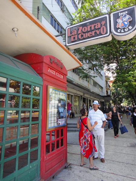 La Zorra y El Cuervo during the daylight - Havana's premier Jazz Club opens at 10pm