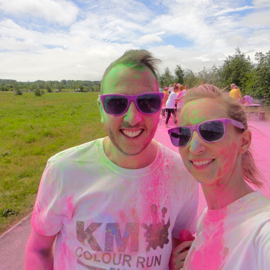KM Colour Run