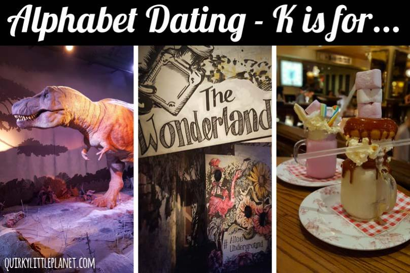 Alphabet Dating - K is for Kids for the day
