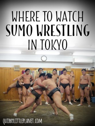 Where to watch sumo wrestling in Tokyo
