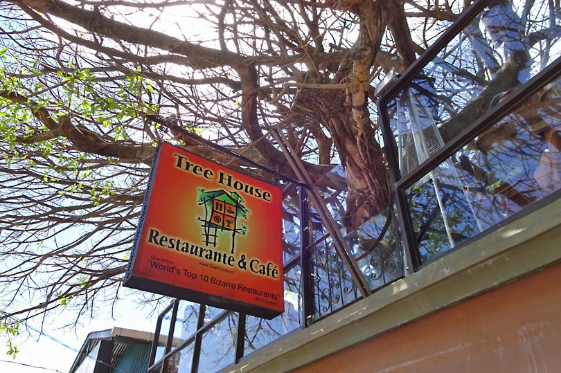 Quirky restaurant in Monteverde Costa Rica