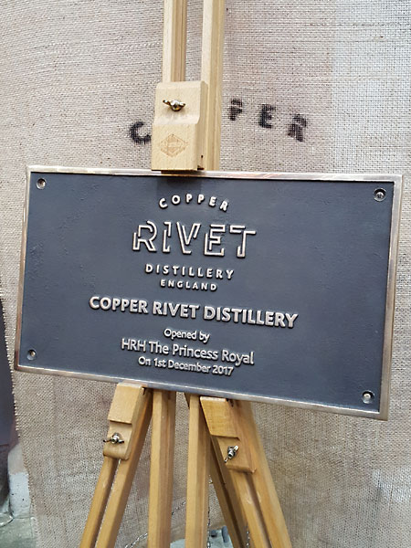 The Copper Rivet Distillery Tour at Chatham Historic Dockyard - excellent idea for a date or fun afternoon out.