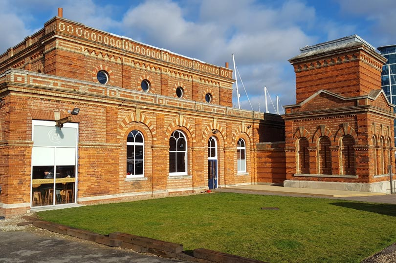 Pump House No.5 - home to the Copper Rivet Distillery Tour