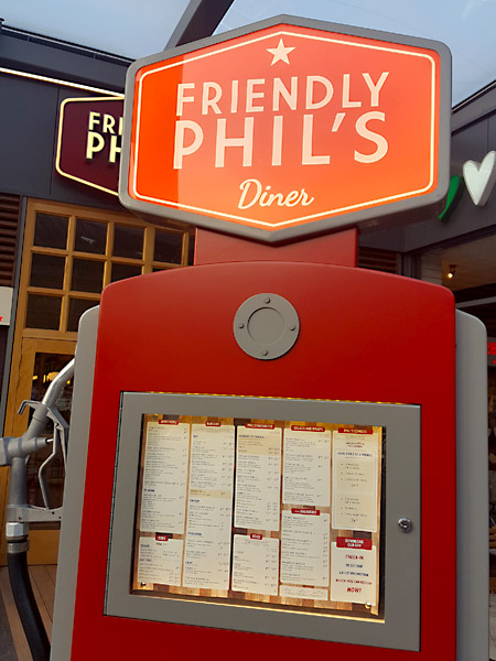 Friendly Phil's diner