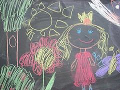 Drawing in Chalk