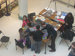 Drawing at the Harlequin Centre
