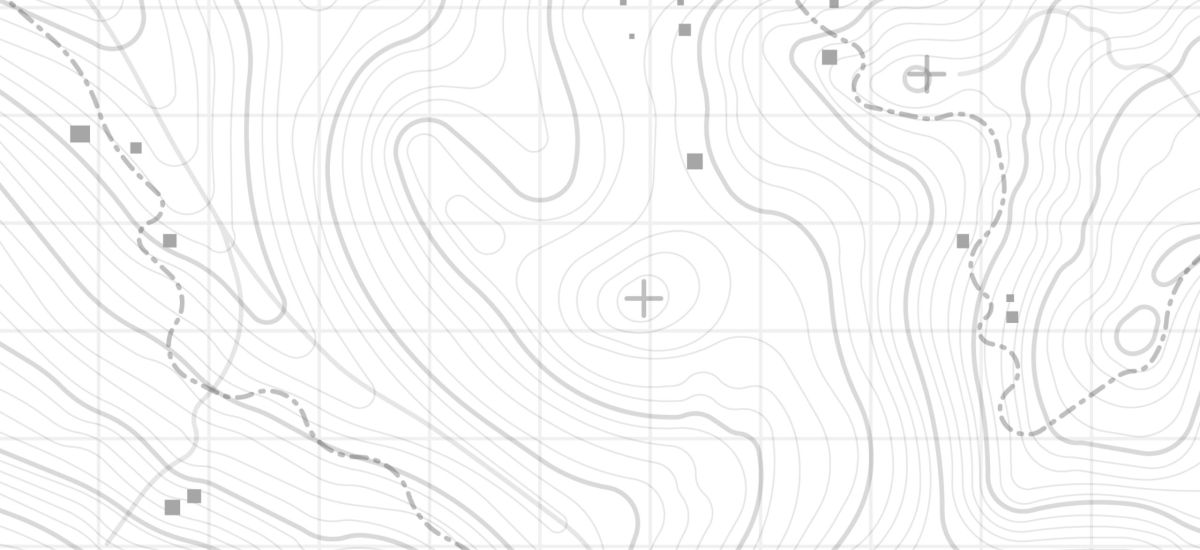 curvas de nivel Quirós Topografía