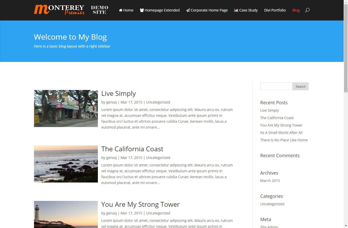 Modify The Divi Blog Fullwidth Layout