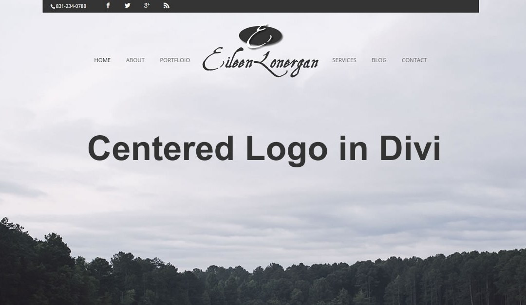 Center Your Logo In the Middle of the Menu