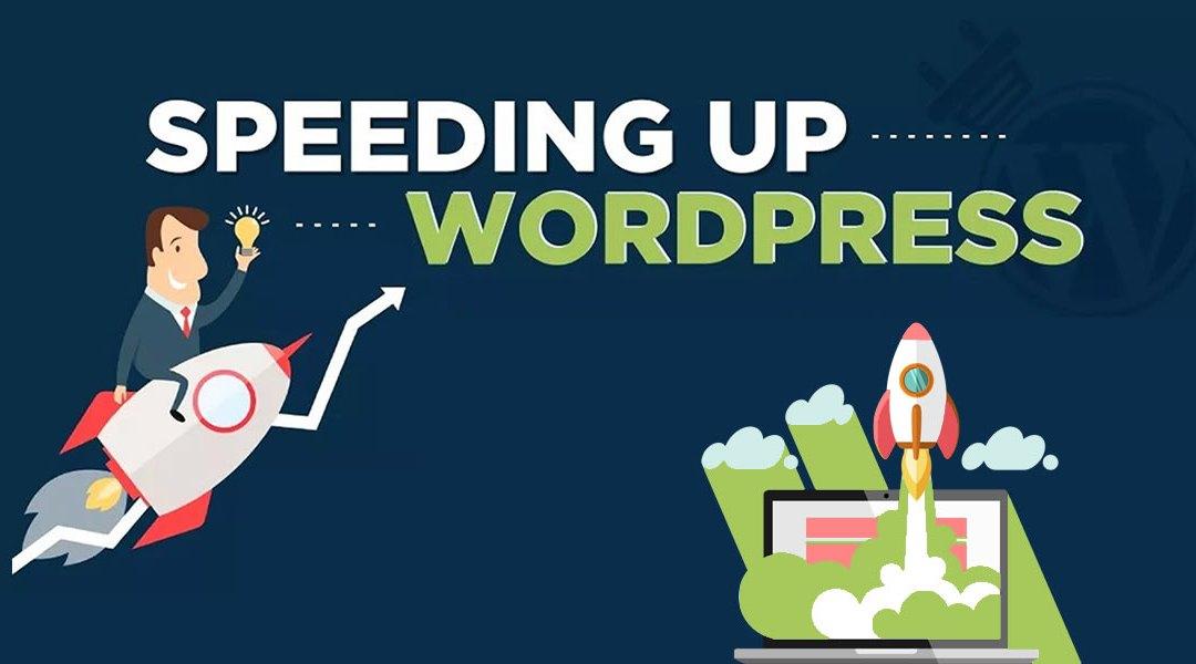 WordPress Speed Optimization - Infographic