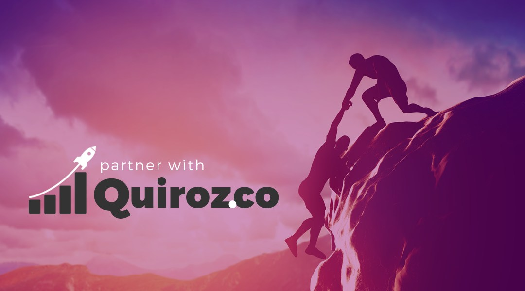 Calling for Partners & Sponsors to Be Added and Promoted on Quiroz.co
