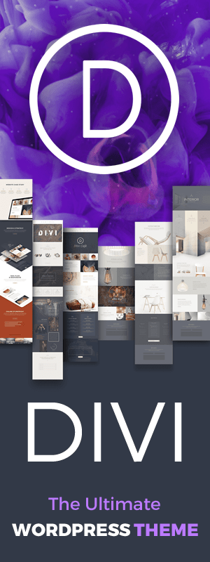Divi is the Ultimate WordPress Theme