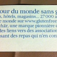 GlutenFreeRoads, ou comment trouver des adresses partout dans le monde pour manger et acheter gluten free