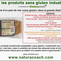 Produits sans gluten industriels : ce n'est pas bon pour notre santé!