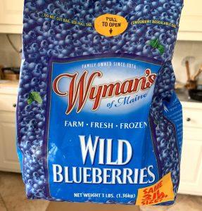 Wymans Frozen Wild Blueberries