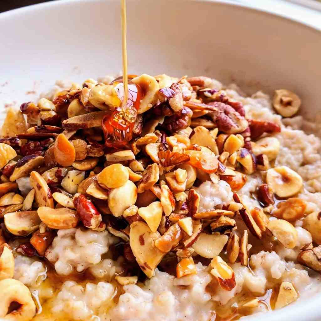 Honey Nut Oatmeal_drizzle post