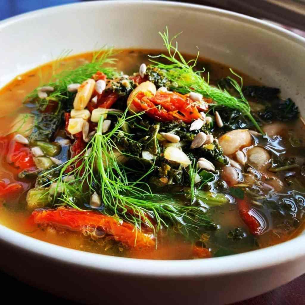 Tuscan Cannellini Kale Soup B