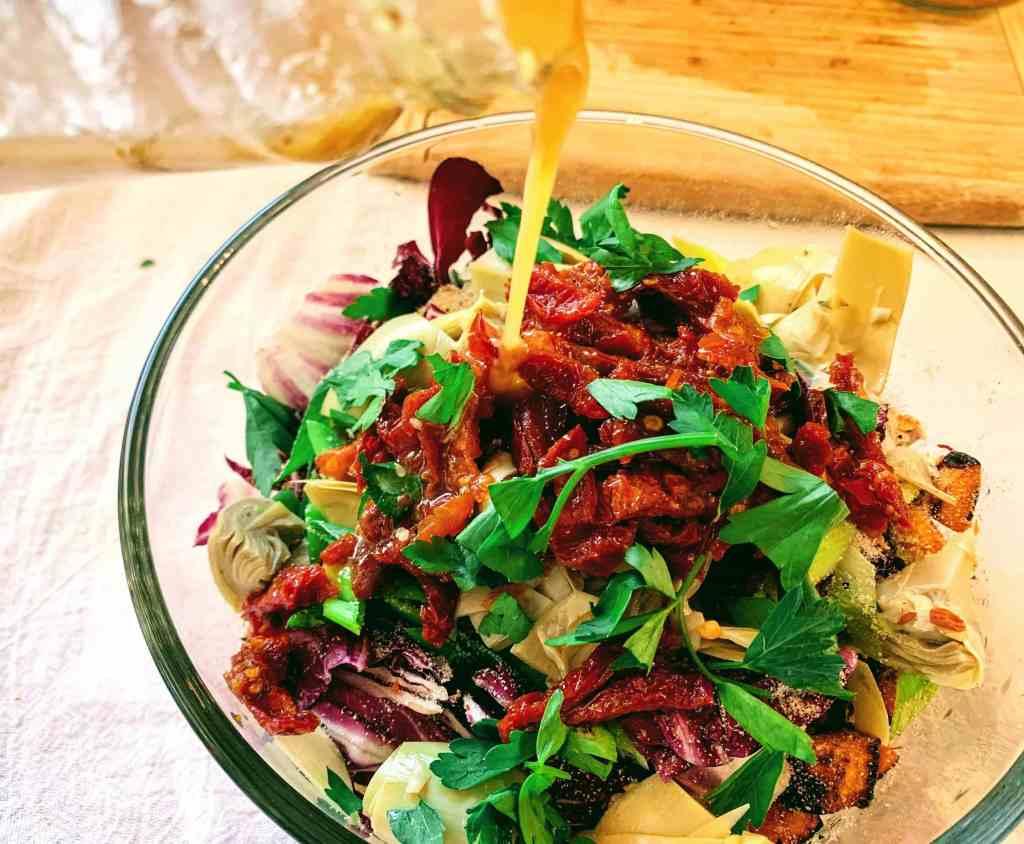 Veggie Quinoa Bowl_dressing of choice