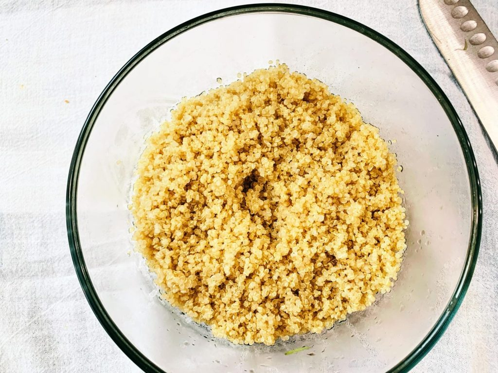 Veggie Quinoa Bowl_quinoa
