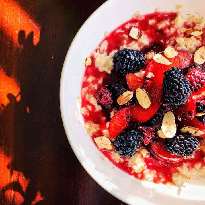 Blackberry Plum Oats_top