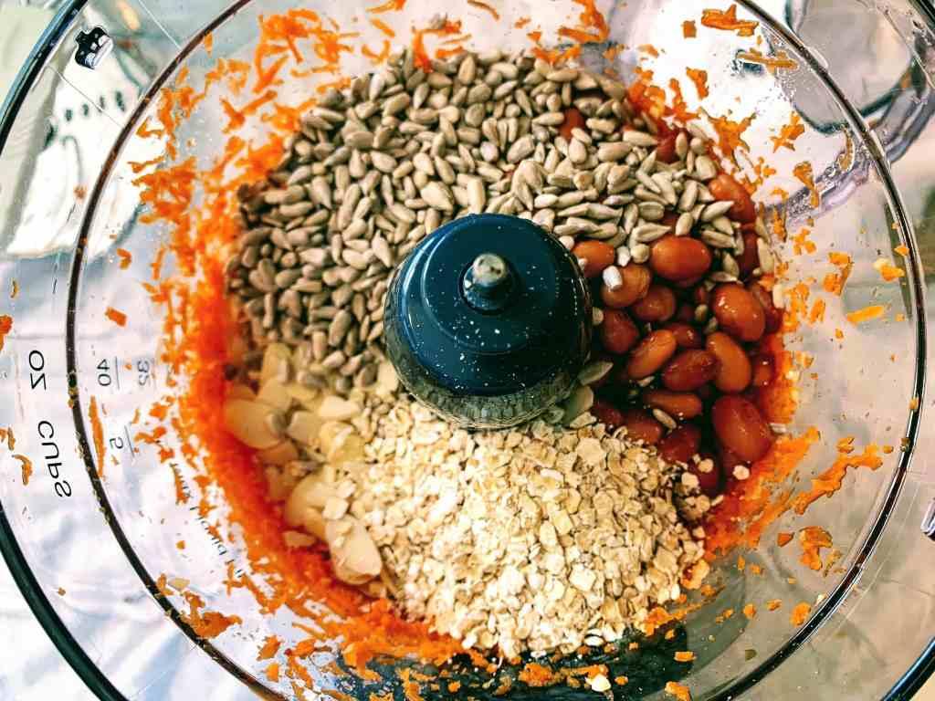 Pinto Patty_add oats nuts