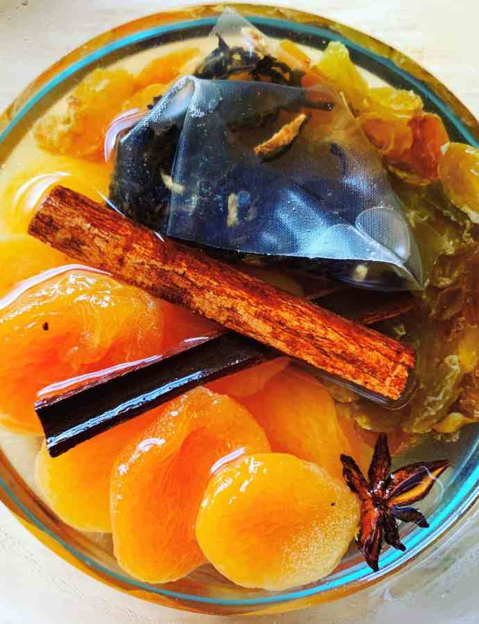 S.Y.L. Tip #4–Dried Fruit in Spiced Tea