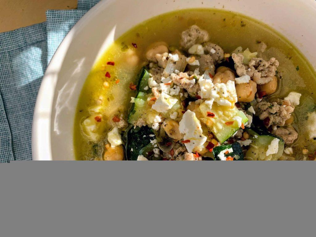 Mediterranean Chicken Soup_saute onion