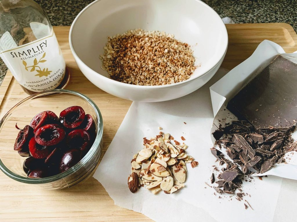 Cherry Chocolate Oatmeal_ingredients