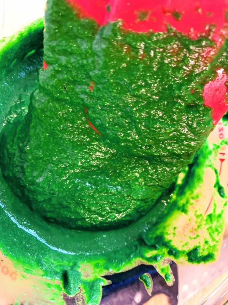 Mean Green Vegetable Lasagna_kale sauce