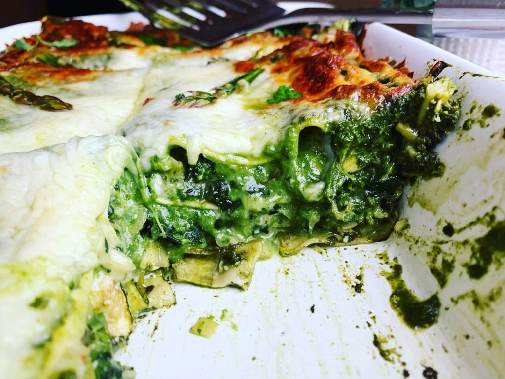 Mean Green Vegetable Lasagna_sideview cutout