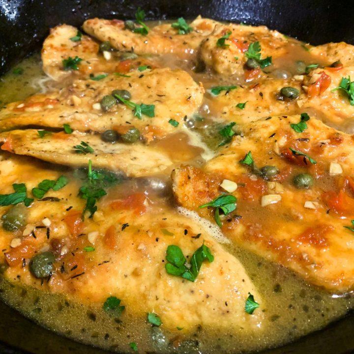 Chicken Piccata_closeup 1