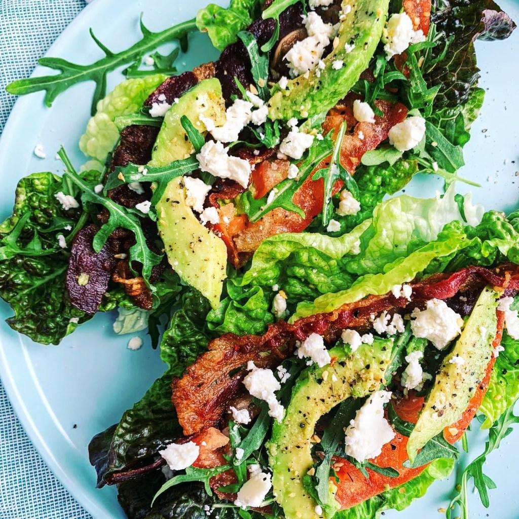 BBLAT Lettuce Wraps_topview
