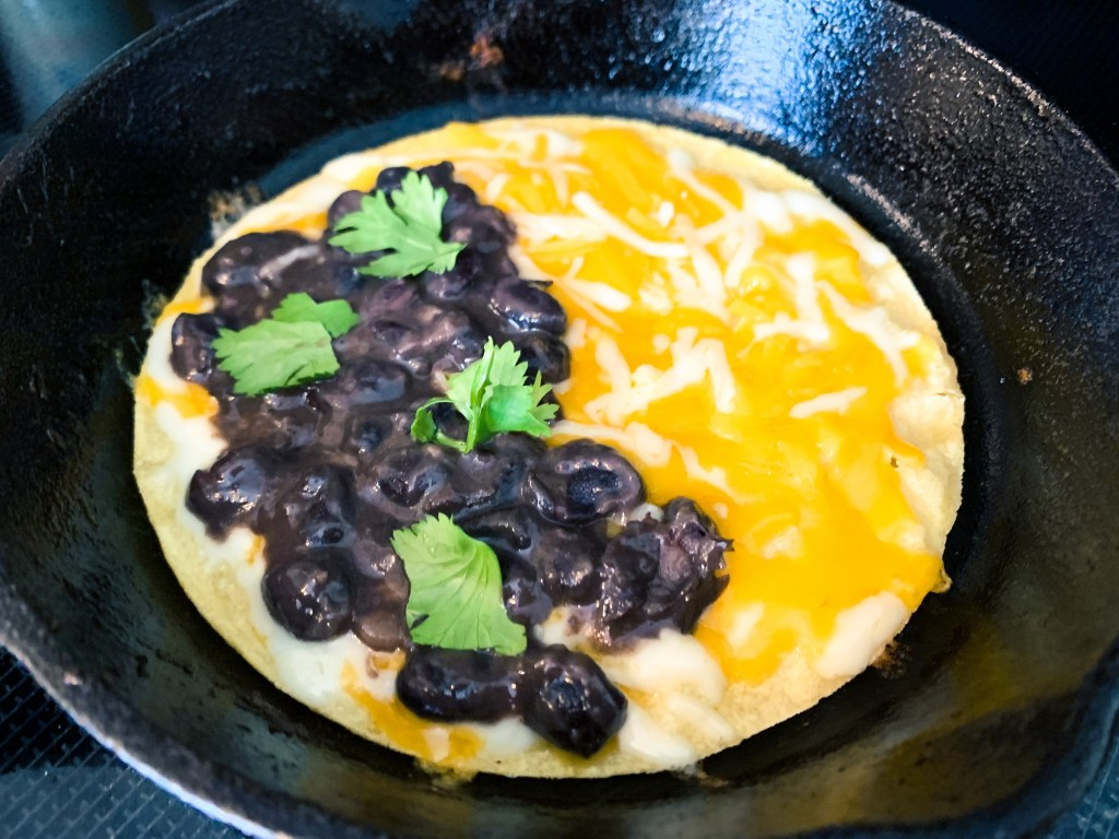 Super Savory Black Beans_quesadilla