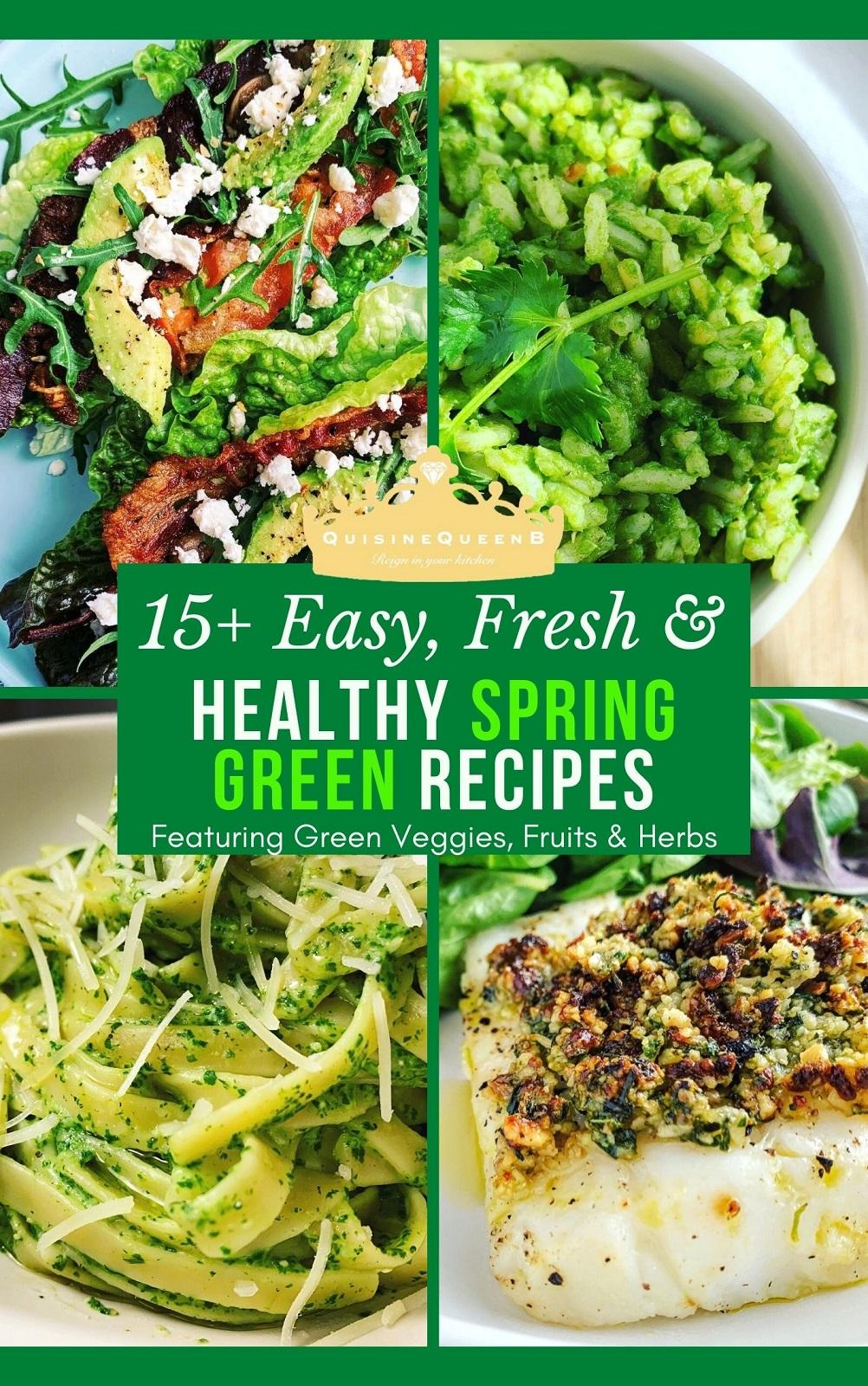 Healthy Spring Green Recipes Roundup (Healthy Spring Recipes)