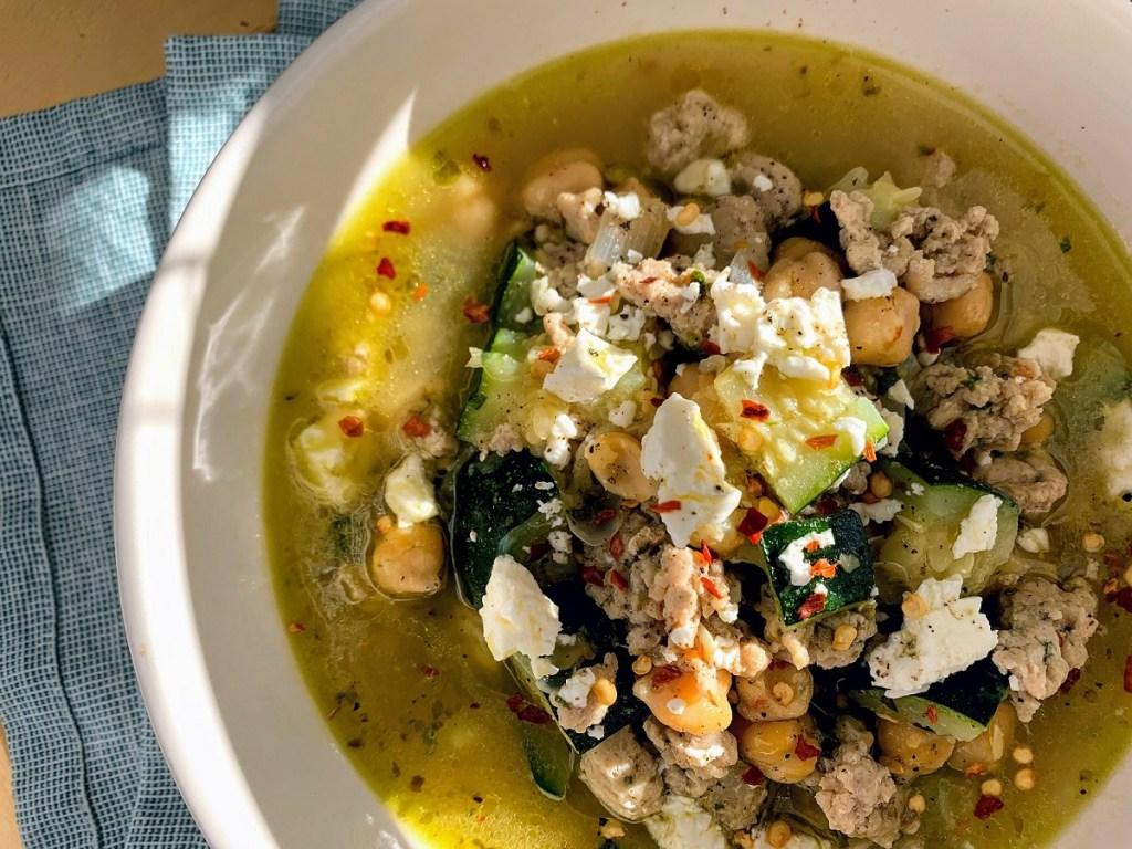 Mediterranean Chicken Soup_top view_1200px
