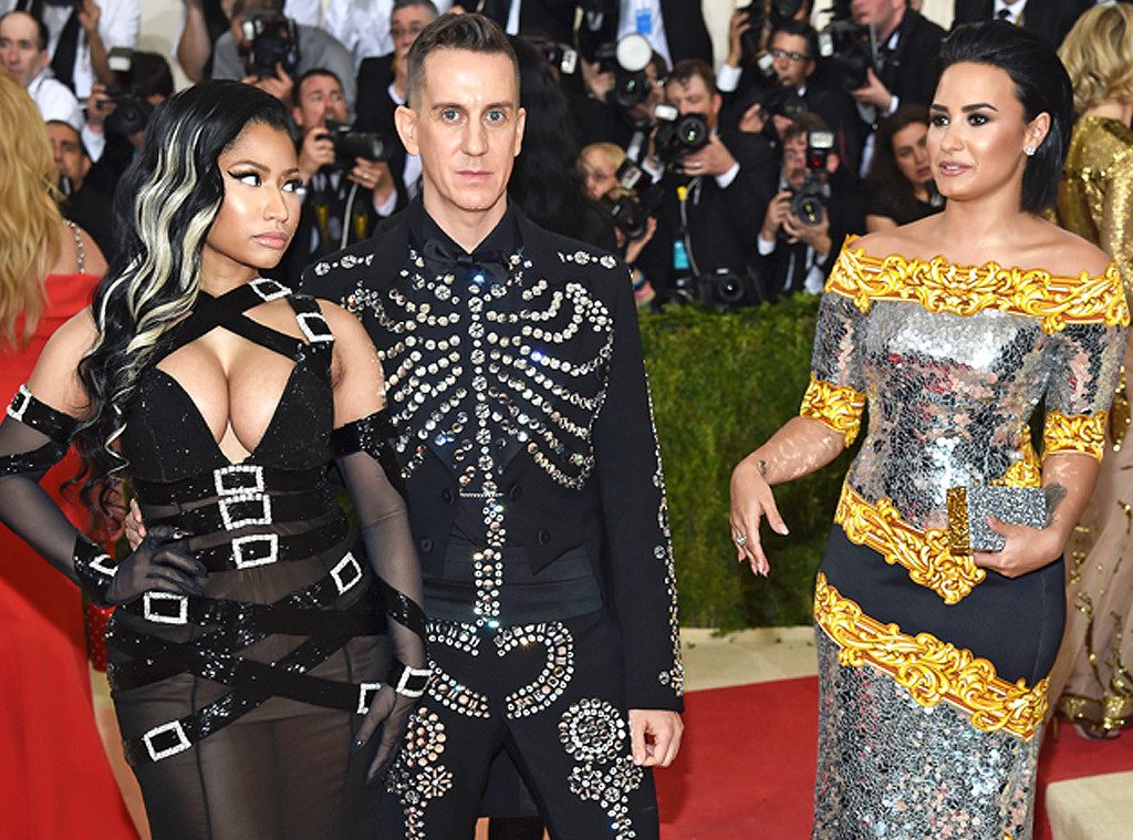 Petty Fights: Demi Lovato Throws Shade At Nicki Minaj Over Met Gala Pic