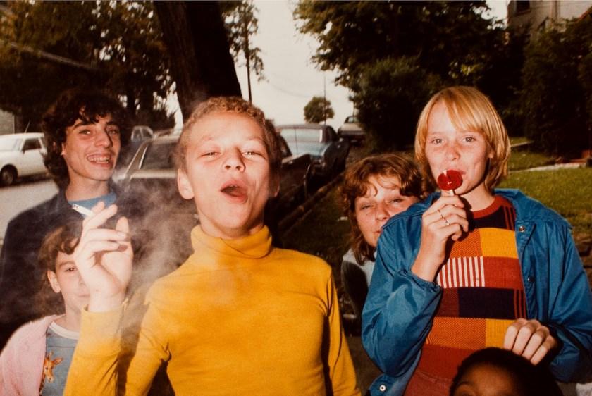 Fotografía © Mark Cohen. Wilkes Barre, 1977.