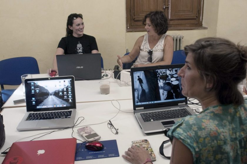 Taller de fotografía de Quitar Fotos en Vitoria