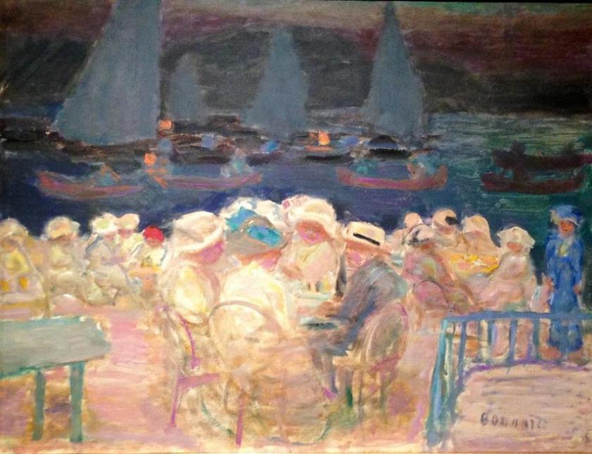 © Pierre Bonnard. Le crépuscule au Fährhaus 1913.