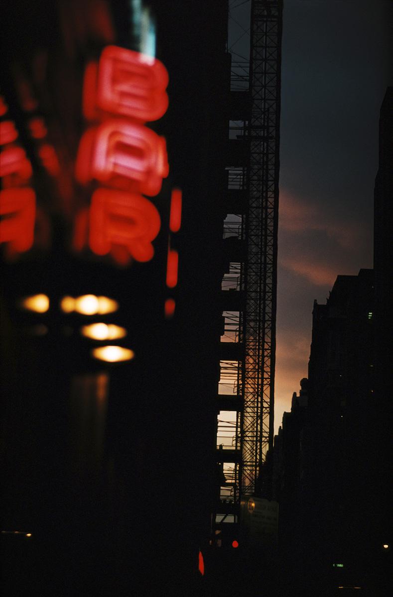 Fotografía © Ernst Haas. Nueva York, 1962.