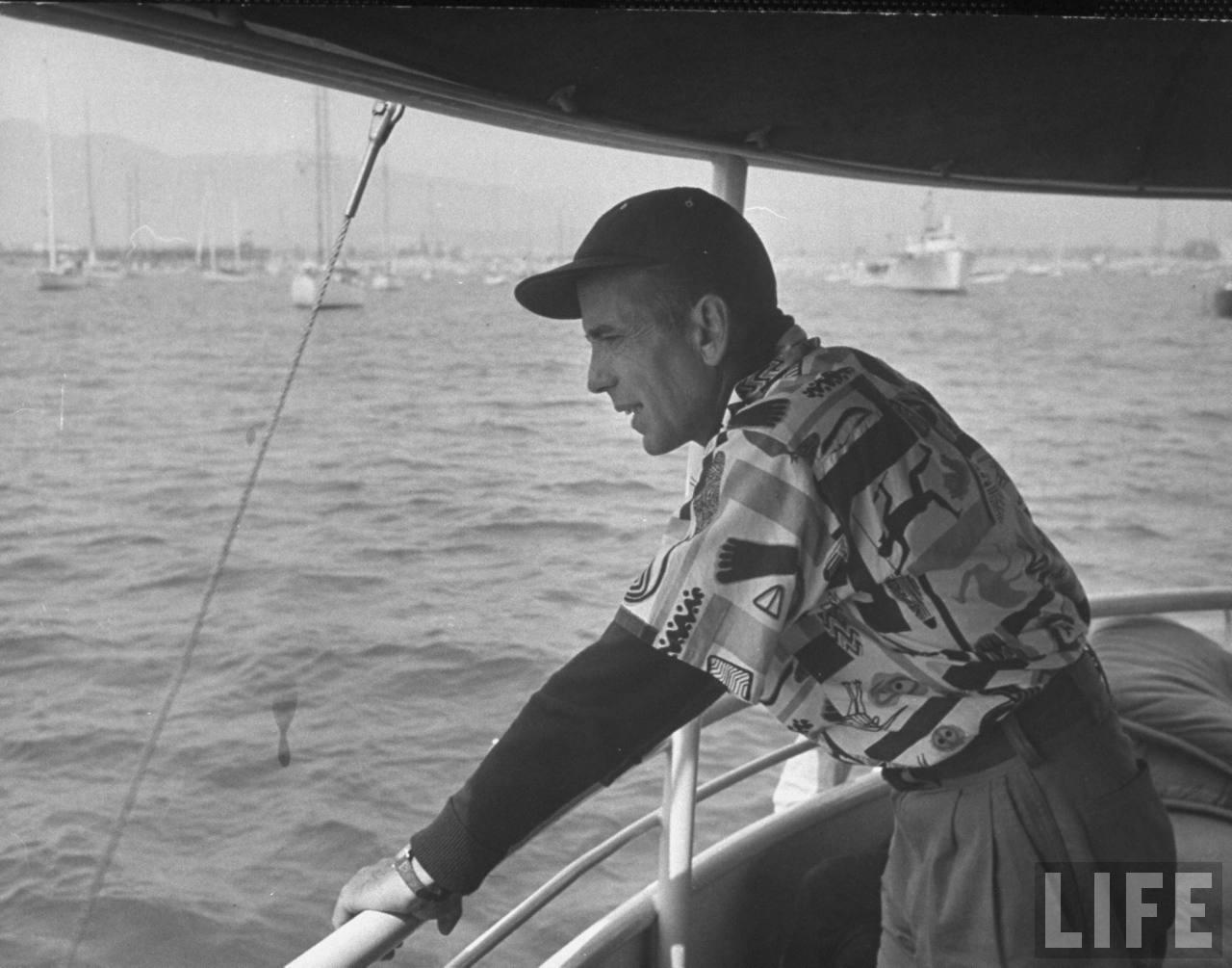 Humphrey Bogart Quite Continental